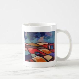 IMPRESSIONIST LANDSCAPE COFFEE MUG
