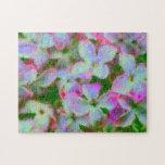 Impressionist Lilacs Puzzle