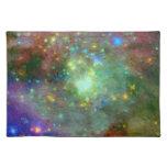 Impressionist Orion Nebula Cloth Placemat