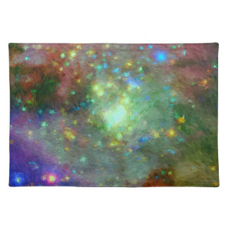 Impressionist Orion Nebula Place Mat