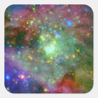 Impressionist Orion Nebula Stickers