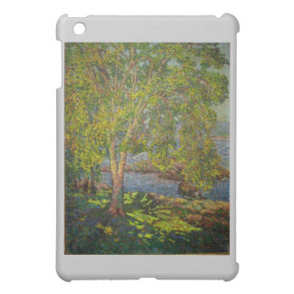 Impressionist Painting Schenley Park Pittsburgh Cover For The iPad Mini