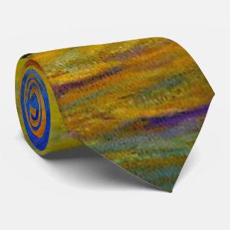 Impressionist Pastel Colors Tie
