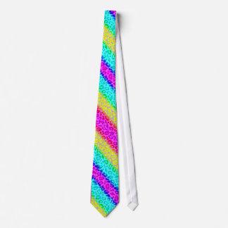 Impressionist rainbow tie #5