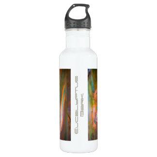 Impressionist-style Eucalyptus Bark Water Bottle
