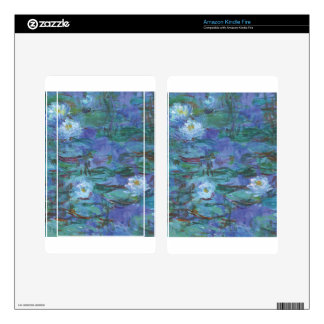 Impressionist Texture Kindle Fire Decals