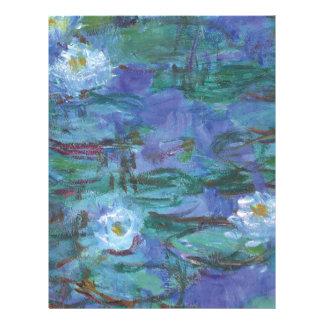 Impressionist Texture Letterhead