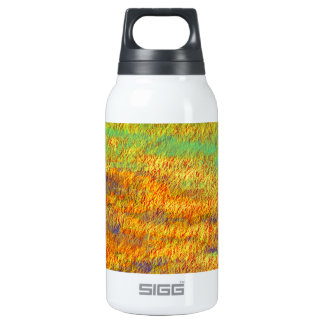 Impressionistic Abstract Fine Art 10 Oz Insulated SIGG Thermos Water Bottle