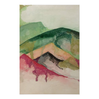Impressionistic art poster