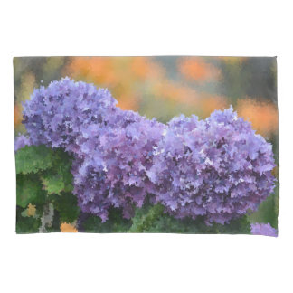 Impressionistic Hydrangea Pillowcase