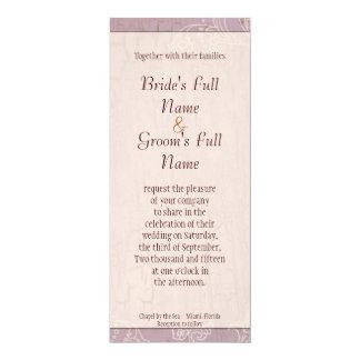 Impressionistic Lilacs - Wedding Invitation