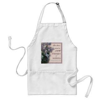 Impressionistic Lilacs - Woman's Apron apron