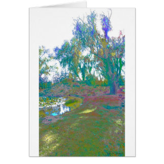 Impressionistic One Card