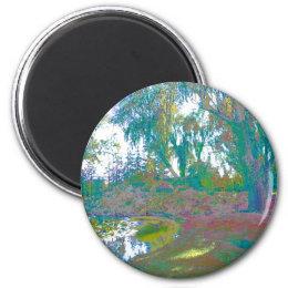 Impressionistic One Magnet
