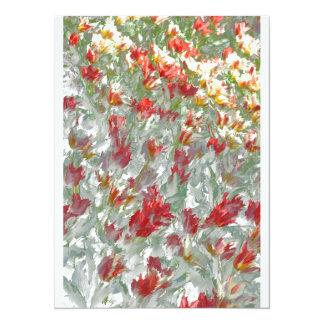 Impressionistic Tulips Card