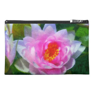 Impressionistic Water Lilies Travel Accessory Bag