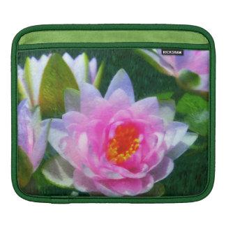 Impressionistic Water Lily ipad Sleeve