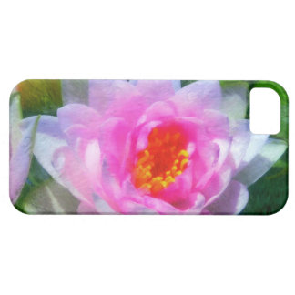 Impressionistic Water Lily iphone 5 Case