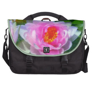 Impressionistic Water Lily Laptop Bags