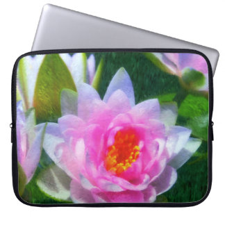 Impressionistic Water Lily Laptop Sleeve