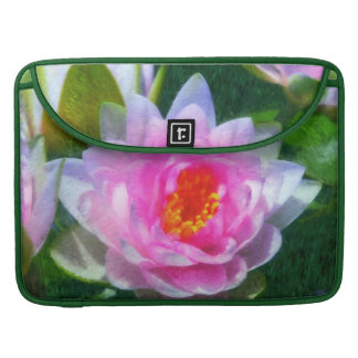 Impressionistic Water Lily MacBook Pro Sleeve