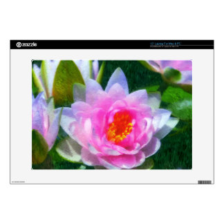 Impressionistic Water Lily Skin Skins For Laptops