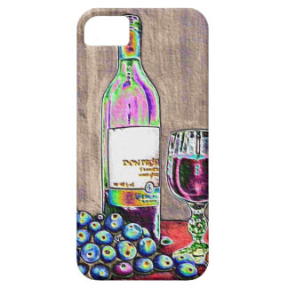 Impressionistic Wine and Grapes Art iPhone SE/5/5s Case