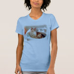 Impressionist's Cat in a Sink Basin Shirt