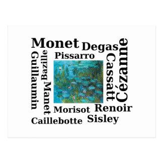 Impressionists Postcard