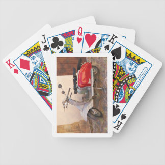 Impressitaly Lambretta Scooter Bicycle Playing Cards