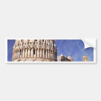 Impressitaly Pisa Battistero Bumper Sticker