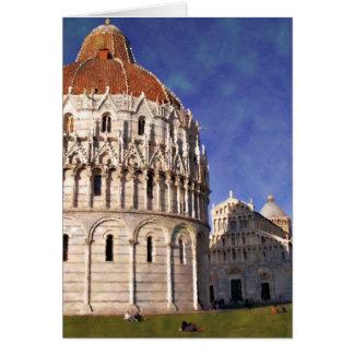 Impressitaly Pisa Battistero Card