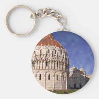 Impressitaly Pisa Battistero Keychain
