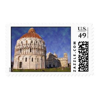 Impressitaly Pisa Miracoli Stamp