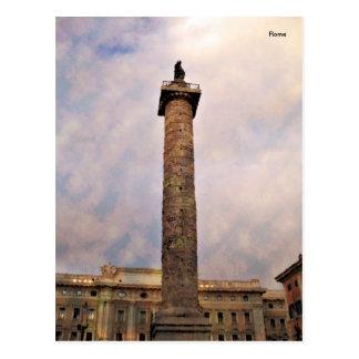 Impressitaly Rome Piazza Colonna Postcard