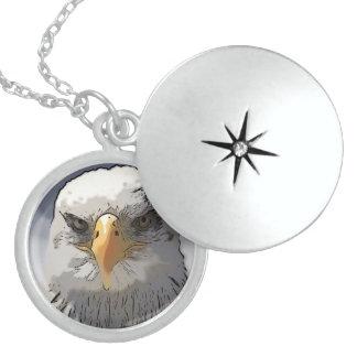 Impressive Animal -Eagle Locket Necklace