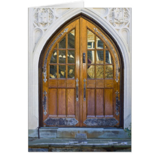 Impressive Arched Door - Blank Card