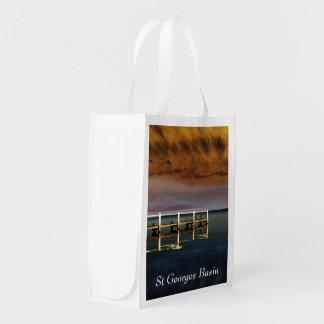 Impressive Basin Reusable Grocery Bags