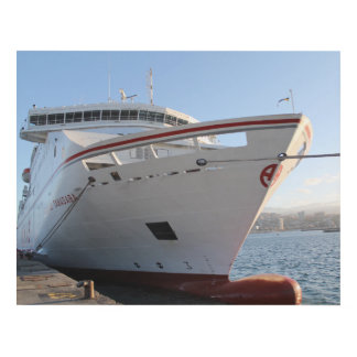 Impressive ferry from Spain Panel Wall Art