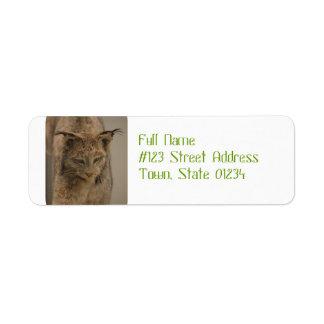 Impressive Lynx Label