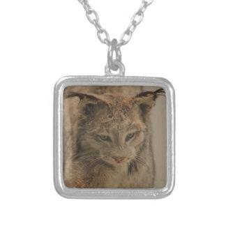 Impressive Lynx Square Pendant Necklace