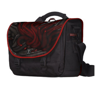impressive moments full of color- red silver laptop bag