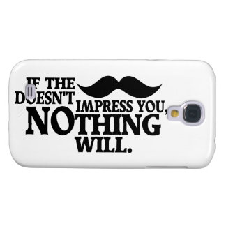 Impressive Moustache custom color HTC case