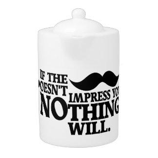 Impressive Moustache teapot