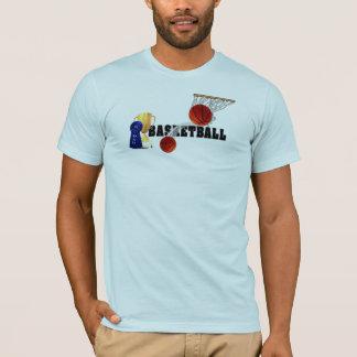 Impressive Sports Tee Shirt - Basketball Design #2
