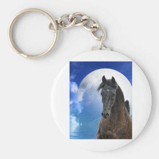 Impressive Stallion Keychain