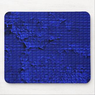 impressive texture, blue mousepad