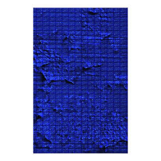 impressive texture blue stationery