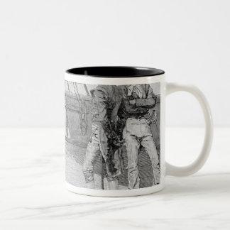 Impressment of American Seamen Two-Tone Coffee Mug