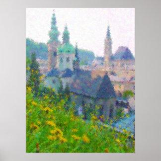 Impresso® Salzburg by MB7Art Poster